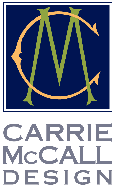 Carrie McCall Design logo hero